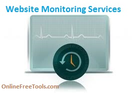 Free Web tools to monitor website downtime and uptime