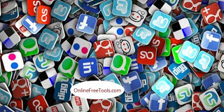 A list of social bookmarking sites icons