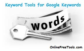 Keyword tools for Google keywords