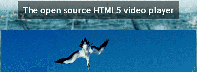 the open source html5 video player