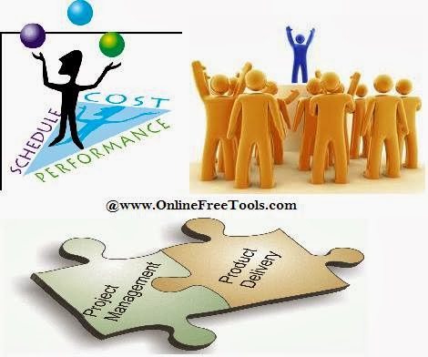 Project management in online business