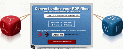 converter pdf files to word doucments