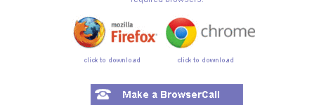 VoipBuster make a browser call
