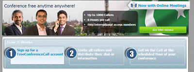 free conference call steps