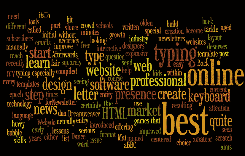 Wordle URL Option world cloud generation