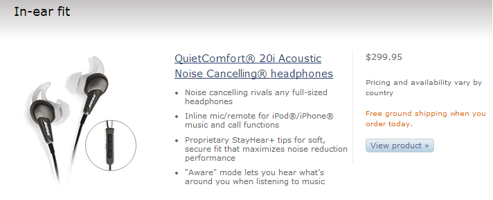 Noise Cancelling headphones for working