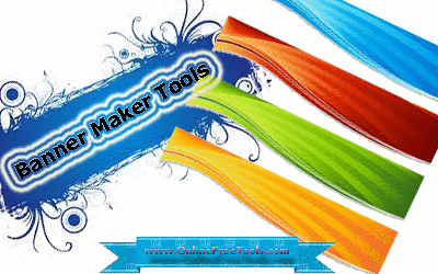 banner maker tool online using