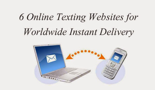 6 Online Texting Websites for Worldwide Instant Delivery