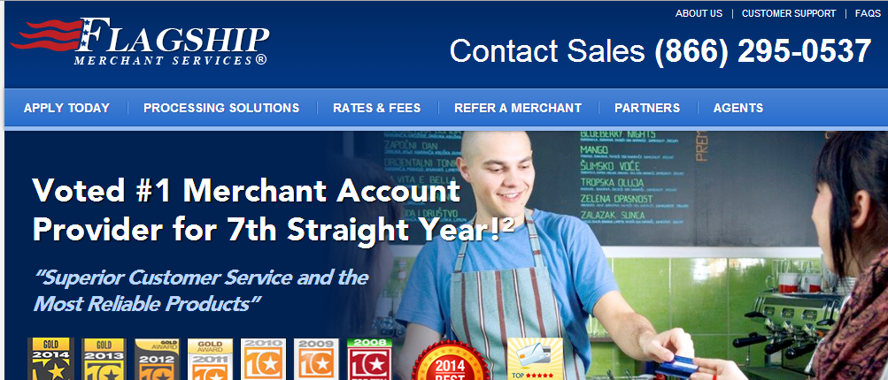 Flagship Merchant Service - Cheap Credit Card Processing Services
