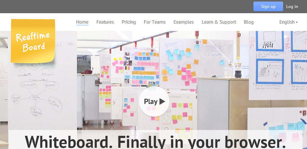 Realtime Board - Free Online Whiteboards That Are Collaborative Too
