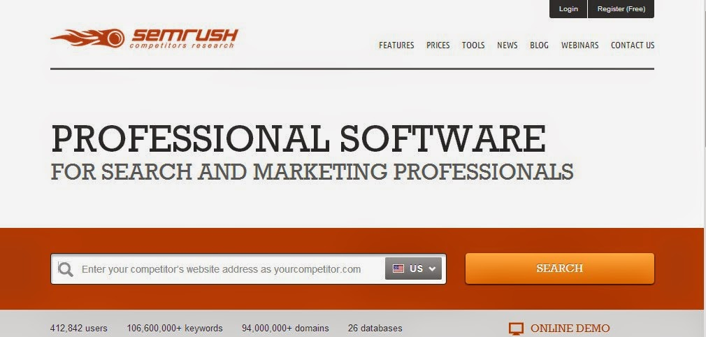 SEMRush - Traffic Estimators