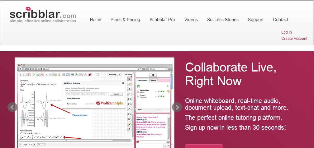 Scribblar - Free Online Whiteboards That Are Collaborative Too