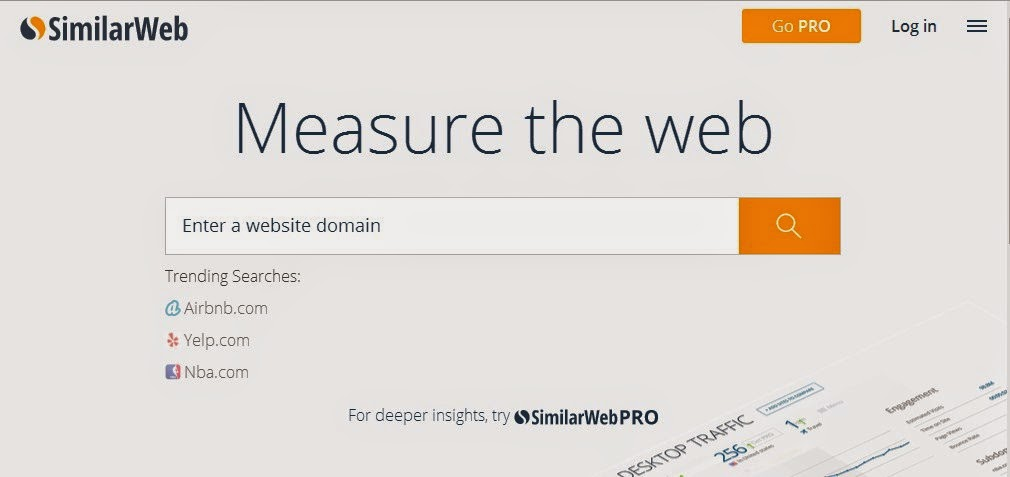 SimilarWebs - Traffic Estimators