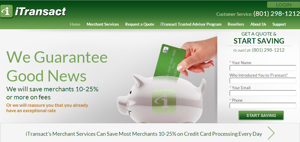 iTransact - Cheap Credit Card Processing Services