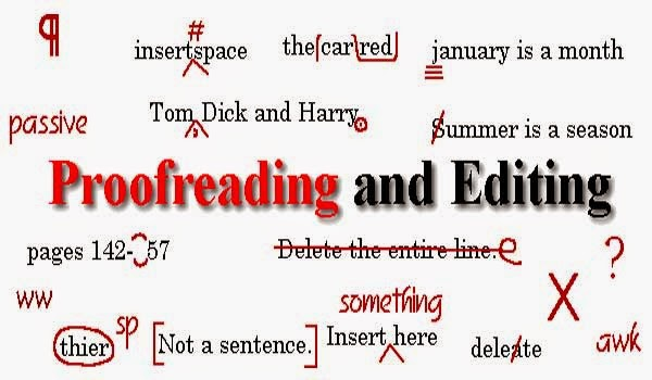 Online proofreading tools used