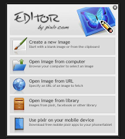 New Image opening in online adobe Photoshop dialoug